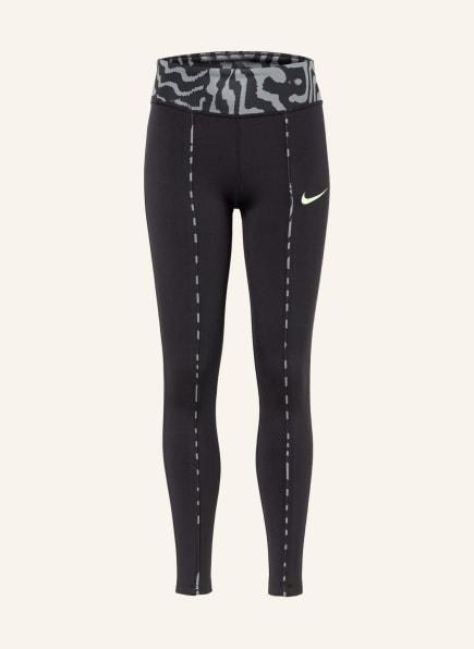 Nike Tights ONE, Farbe: SCHWARZ/ GRAU (Bild 1)