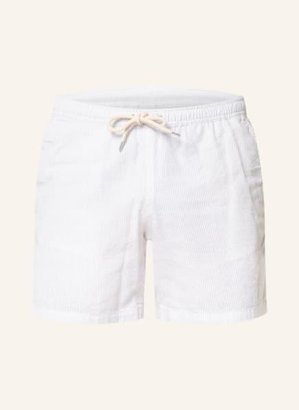 NN07 Shorts HILL, Farbe: WEISS/ HELLGRAU (Bild 1)
