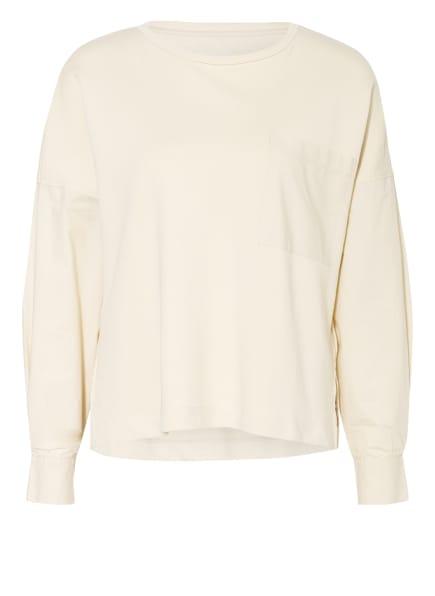 Marc O'Polo Sweatshirt im Materialmix, Farbe: ECRU (Bild 1)