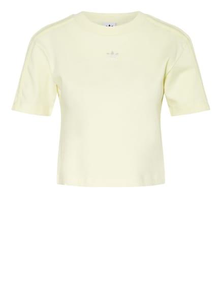 adidas Originals Cropped-Shirt TENNIS LUXE, Farbe: HELLGELB (Bild 1)