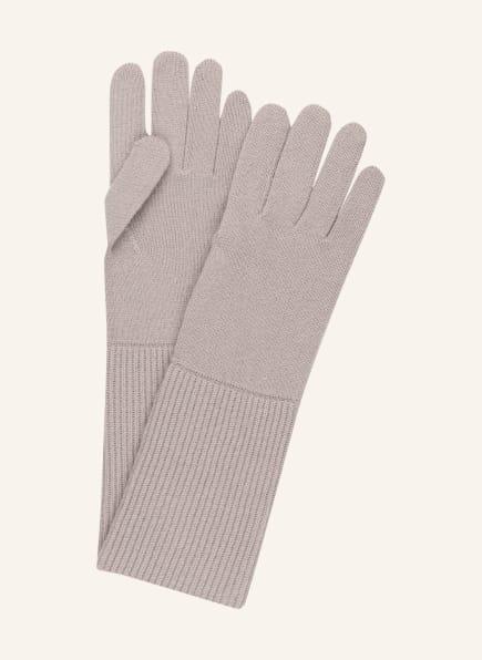 darling harbour Handschuhe aus Cashmere, Farbe: TAUPE (Bild 1)