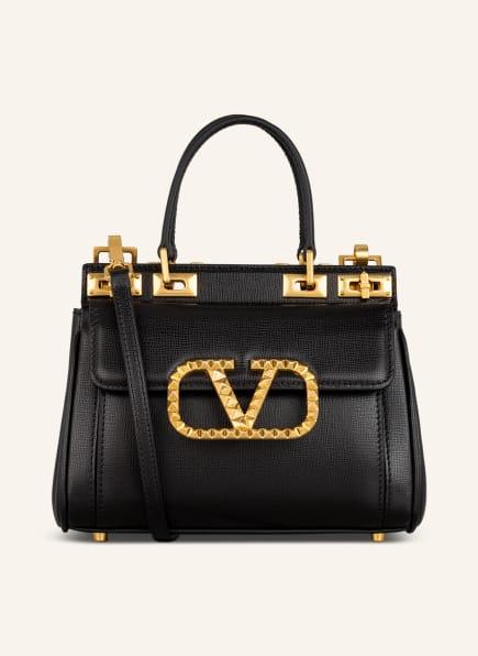 VALENTINO GARAVANI Handtasche V-LOGO ROCKSTUD, Farbe: SCHWARZ (Bild 1)