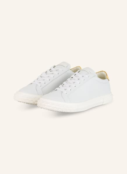 GIUSEPPE ZANOTTI DESIGN Sneaker BLABBER, Farbe: WEISS/ GOLD (Bild 1)