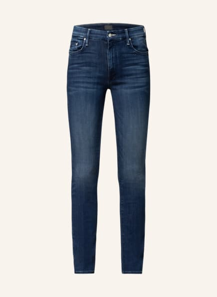 MOTHER Skinny Jeans THE LOOKER SKINNY , Farbe: tongue and chic dunkelblau denim (Bild 1)