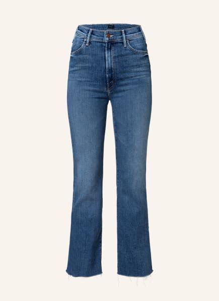 MOTHER Straight Jeans THE HUSTLER ANKLE FRAY , Farbe: satisfaction guaranteed mittelblau denim (Bild 1)