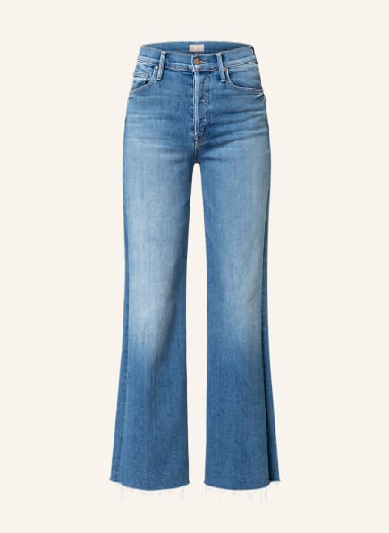 MOTHER Flared Jeans THE TOMCAT ROLLER FRAY , Farbe: a groovy kind of love mittelblau denim (Bild 1)