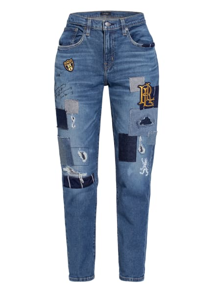 LAUREN RALPH LAUREN 7/8-Jeans , Farbe: 001 TINTED SAPPHIRE WASH (Bild 1)