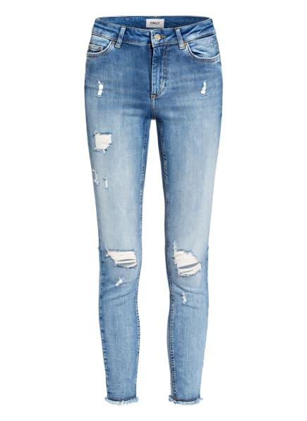 ONLY Destroyed Jeans, Farbe: LIGHT BLUE DENIM (Bild 1)