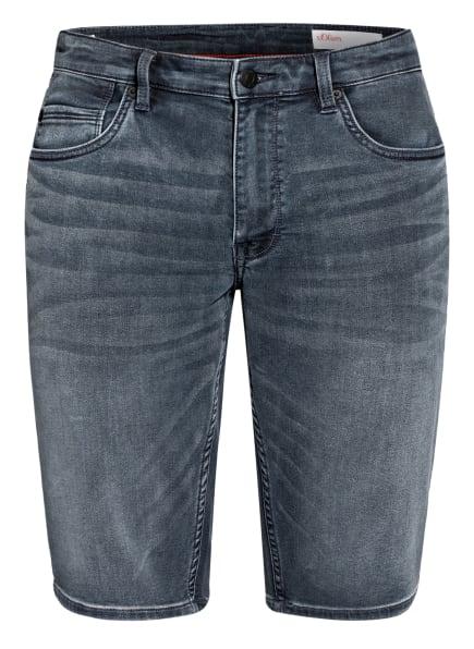 s.Oliver RED Jeans-Shorts, Farbe: 58Z7 dark blue (Bild 1)