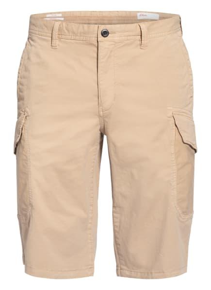 s.Oliver RED Cargo-Shorts, Farbe: BEIGE (Bild 1)
