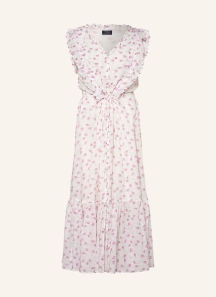 POLO RALPH LAUREN Kleid, Farbe: WEISS/ FUCHSIA/ GRÜN (Bild 1)