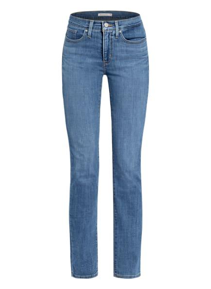 Levi's® Straight Jeans 314 Levi's® Sculpt, Farbe: 23 Med Indigo - Worn In (Bild 1)