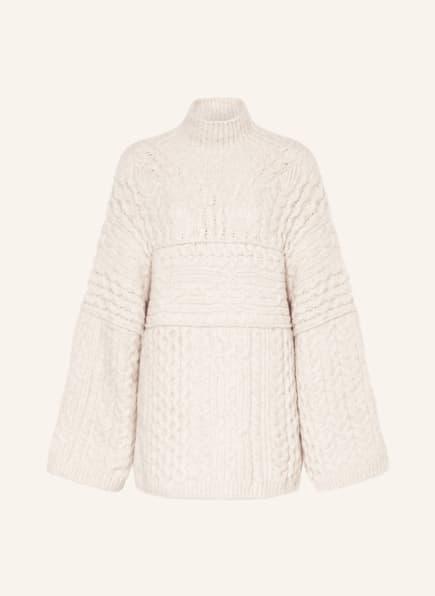 Nanushka Pullover RAW, Farbe: CREME (Bild 1)