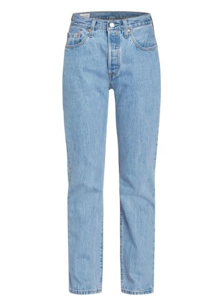 Levi's® Straight Jeans 501 ORIGNAL, Farbe: 27 Light Indigo - Flat Finish (Bild 1)