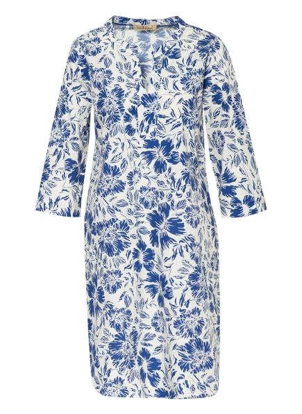 Smith&Soul Kleid mit 3/4-Arm , Farbe: WEISS/ BLAU (Bild 1)