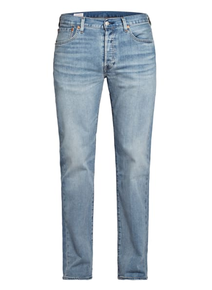 Levi's® Jeans 501 Original Fit, Farbe: 32 Med Indigo - Worn In (Bild 1)