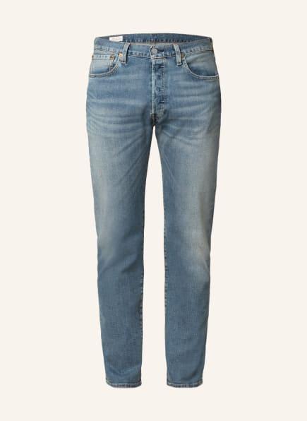 Levi's® Jeans 501 Original Fit, Farbe: 58 Med Indigo - Worn In (Bild 1)