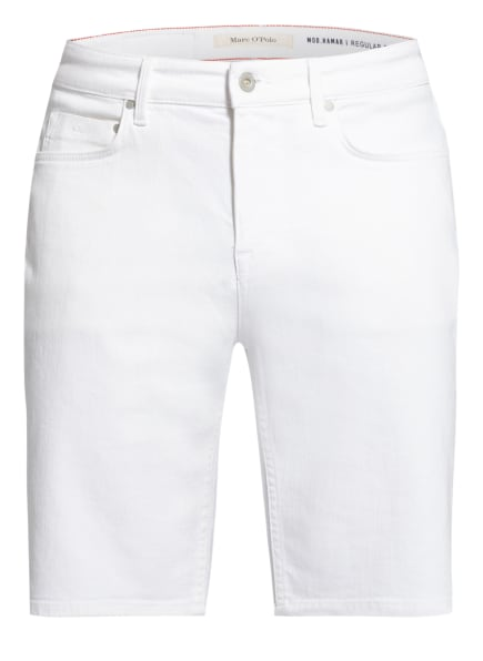 Marc O'Polo Jeans-Shorts HAMAR Regular Fit, Farbe: 101 EGG WHITE (Bild 1)
