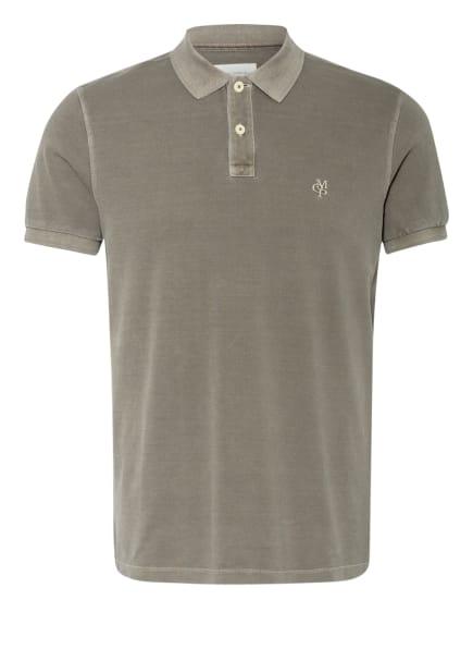 Marc O'Polo Piqué-Poloshirt, Farbe: KHAKI (Bild 1)