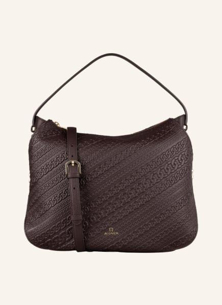 AIGNER Hobo-Bag LIVIA, Farbe: DUNKELBRAUN (Bild 1)