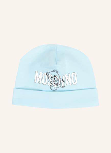 MOSCHINO Mütze, Farbe: HELLBLAU (Bild 1)