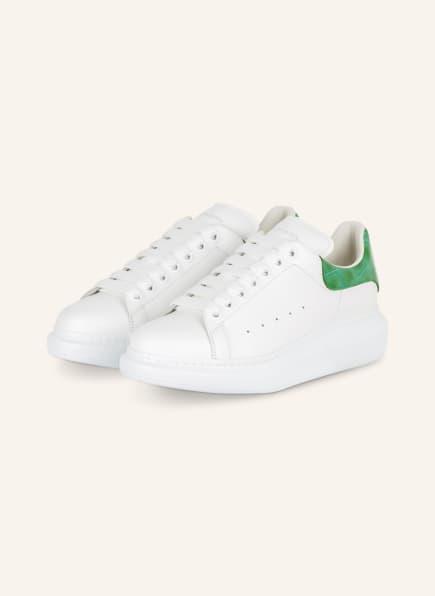 Alexander McQUEEN Plateau-Sneaker , Farbe: WEISS/ GRÜN (Bild 1)