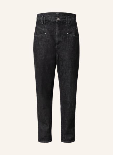 ISABEL MARANT 7/8-Jeans DIPADELA, Farbe: 02FK FADED BLACK (Bild 1)