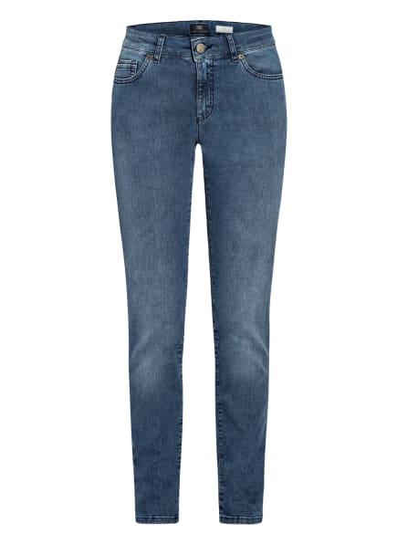 RAFFAELLO ROSSI Skinny Jeans JANE, Farbe: 861 USED BLUE (Bild 1)