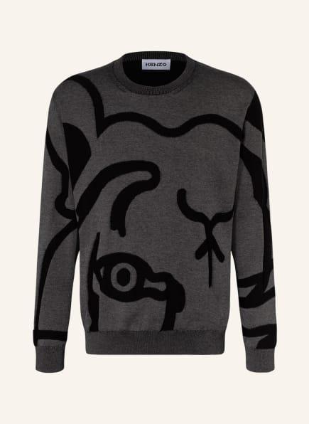 KENZO Pullover TIGER, Farbe: DUNKELGRAU/ SCHWARZ (Bild 1)