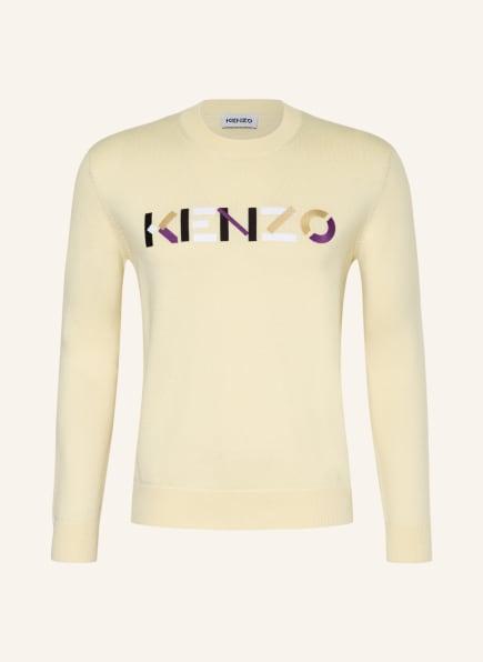 KENZO Pullover, Farbe: HELLGELB (Bild 1)