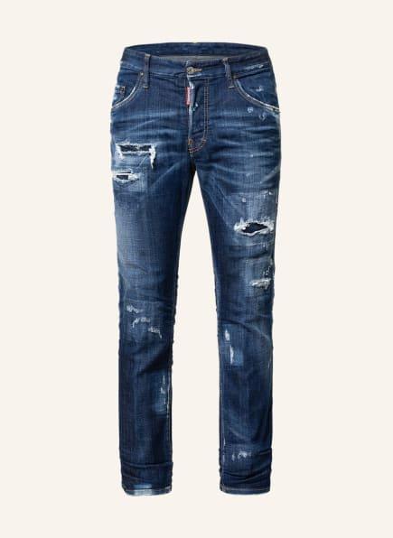DSQUARED2 Destroyed Jeans 1964 SKATER Regular Fit, Farbe: 470 NAVY BLUE (Bild 1)