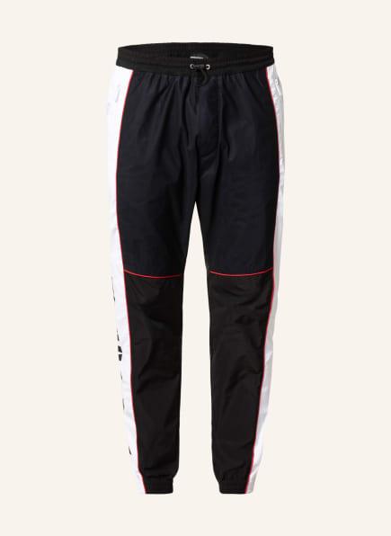 DSQUARED2 Hose im Jogging-Stil , Farbe: SCHWARZ/ WEISS (Bild 1)