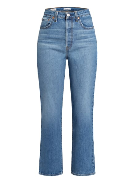 Levi's® 7/8-Jeans RIBCAGE STRAIGHT ANKLE, Farbe: 99 Light Indigo - Worn In (Bild 1)