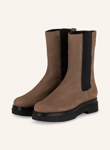 Högl Chelsea-Boots STEEL, Farbe: BRAUN/ DUNKELBRAUN (Bild 1)