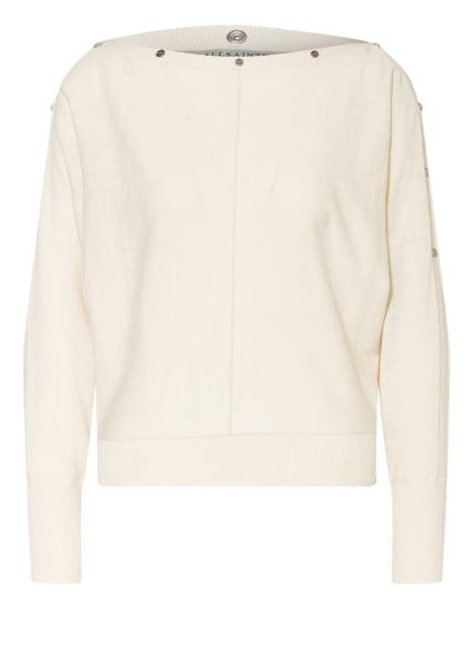 ALL SAINTS Pullover ELI mit Nietenbesatz, Farbe: ECRU (Bild 1)