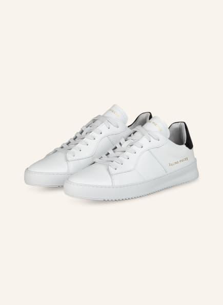 FILLING PIECES Sneaker COURT, Farbe: WEISS/ SCHWARZ (Bild 1)