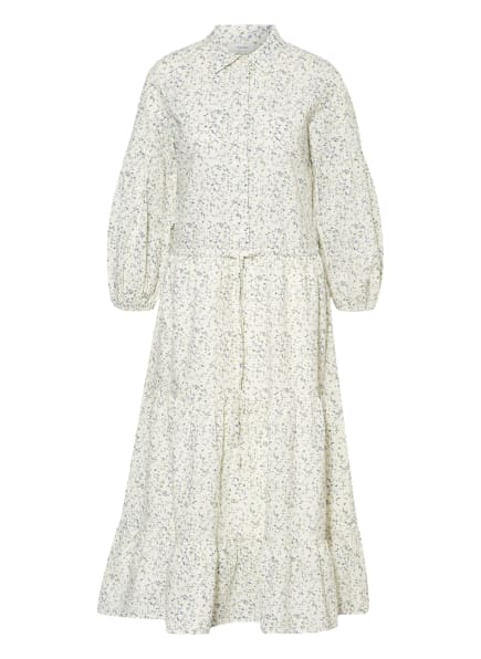 Marc O'Polo DENIM Kleid mit 3/4-Arm, Farbe: WEISS/ HELLLILA/ GRÜN (Bild 1)