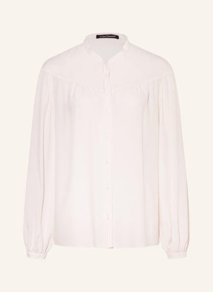 LUISA CERANO Bluse mit Seide, Farbe: CREME (Bild 1)