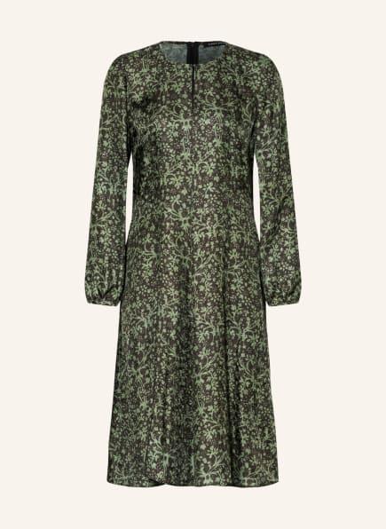 LUISA CERANO Jacquard-Kleid, Farbe: GRÜN/ DUNKELGRAU (Bild 1)