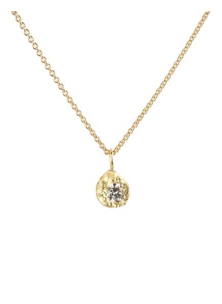 ELHANATI Halskette IMAN mit Diamant, Farbe: GOLD (Bild 1)
