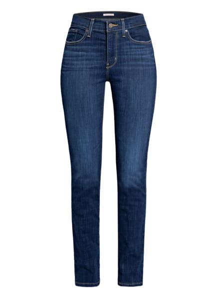 Levi's® Straight Jeans 314 SHAPING STRAIGHT, Farbe: 42 Dark Indigo - Worn In (Bild 1)