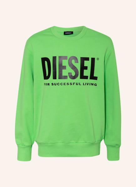 DIESEL Sweatshirt, Farbe: NEONGRÜN (Bild 1)