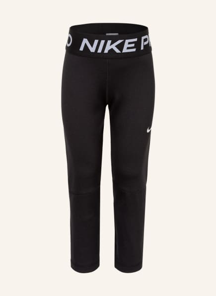 Nike 3/4-Tights PRO, Farbe: SCHWARZ/ WEISS (Bild 1)
