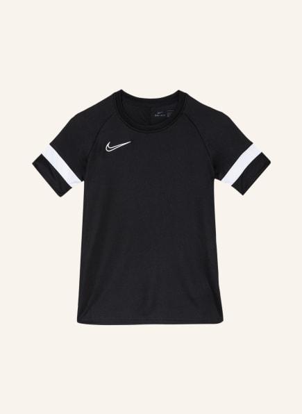 Nike T-Shirt DRI-FIT ACADEMY mit Mesh-Einsätzen, Farbe: SCHWARZ/ WEISS (Bild 1)