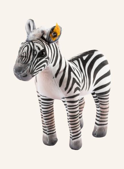 Steiff Zebra-Kuscheltier ZOELL GANT-ZEBRA, Farbe: WEISS/ SCHWARZ (Bild 1)