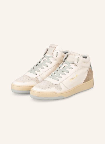 MÉLINÉ Hightop-Sneaker, Farbe: CREME/ BEIGE/ SILBER (Bild 1)