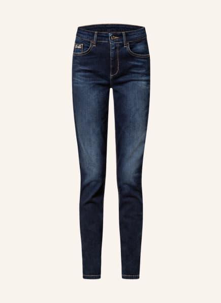 LIU JO Jeans DIVINE mit Schmucksteinbesatz, Farbe: 78222 Den.Blue dk.vibes wa (Bild 1)