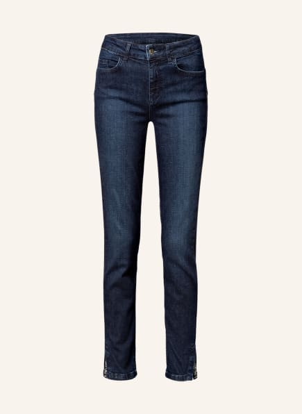 LIU JO Skinny Jeans mit Schmucksteinbesatz, Farbe: 78218 Den.Blue remarkab.w (Bild 1)