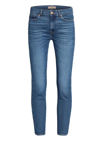 7 for all mankind 7/8-Jeans ROXANNE, Farbe: REJOICE LUXE VINTAGE  RJ MID BLUE (Bild 1)