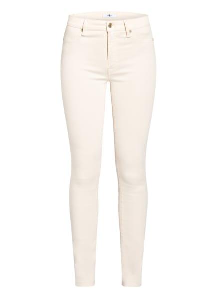 7 for all mankind Skinny Jeans SLIM ILLUSION , Farbe: WINTER WHITE COLOURED SLIM ILLUSION WW WHITE (Bild 1)